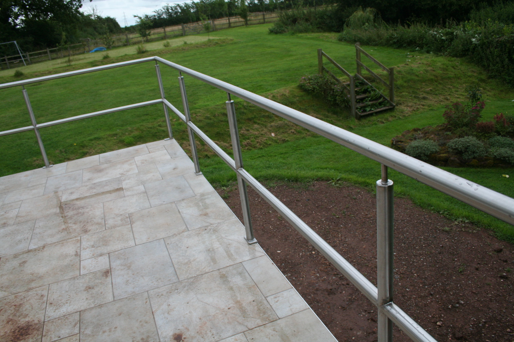 Milverton Builders; Railings